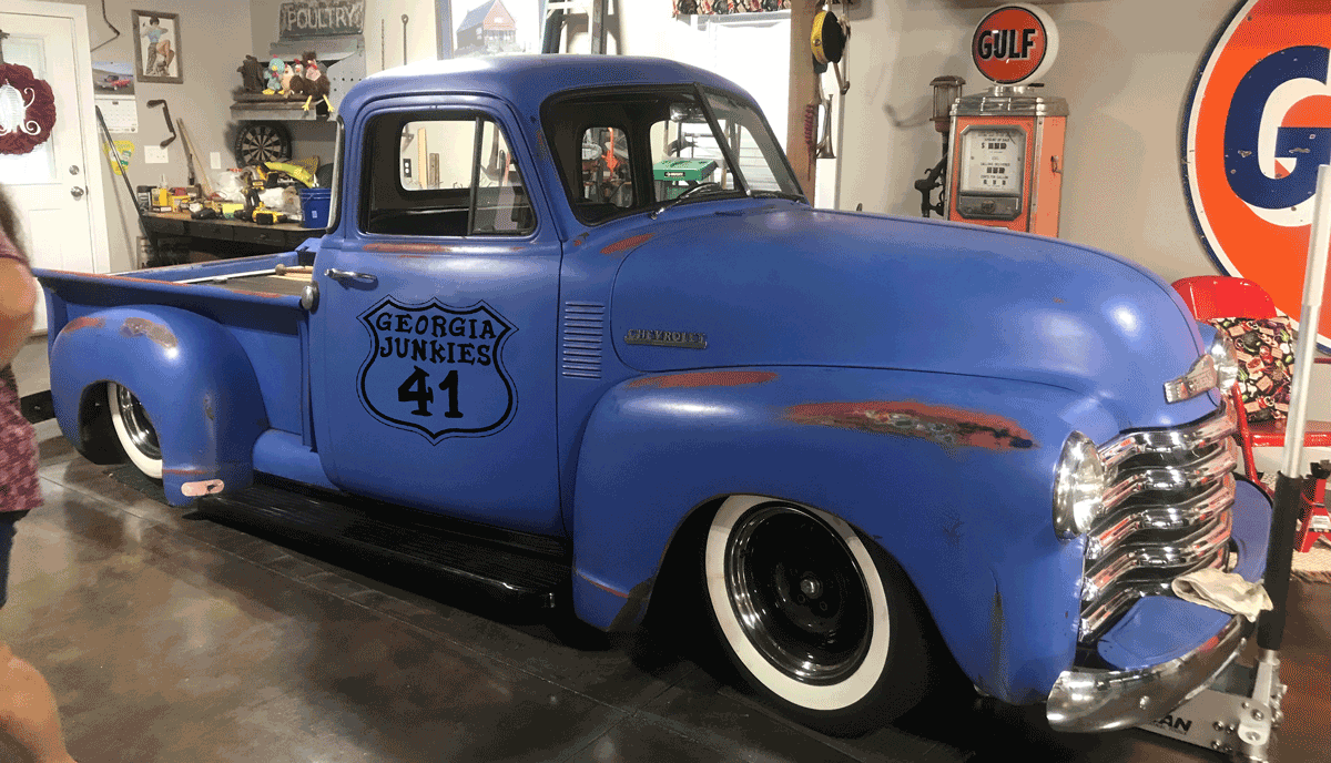 GA Junkies 41 truck